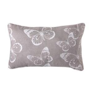 Poduszka Butterfly Grey, 50x30 cm