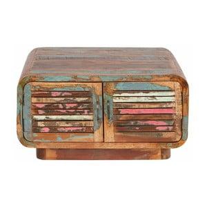 Stolik z drewna z recyklingu Støraa Tulika
