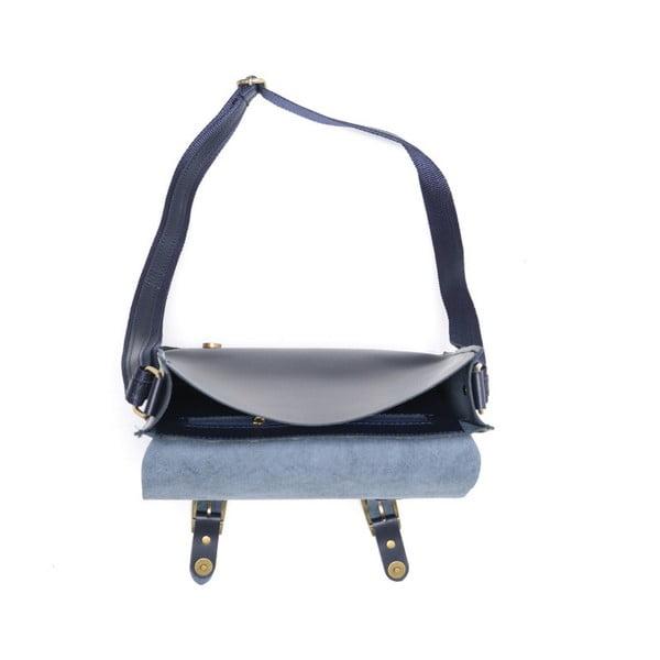 Skórzana torebka Renata Corsi 399 Blu