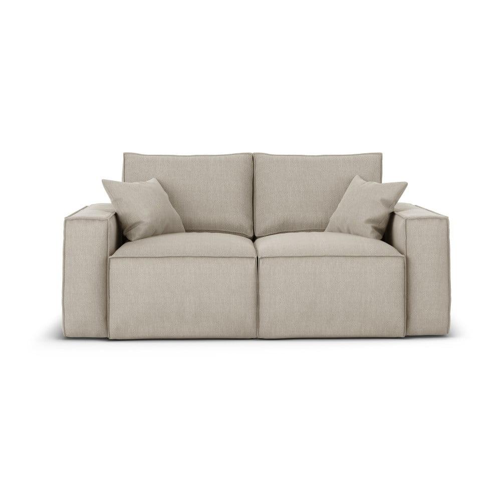 Beżowa sofa Cosmopolitan Design Miami, 180 cm