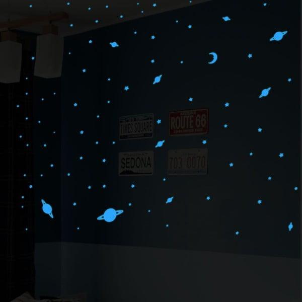 Naklejka świecąca w ciemności Ambiance Universe