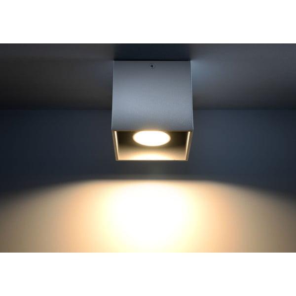 Szara lampa sufitowa Nice Lamps Geo 1