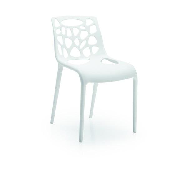 Krzesło Guna, białe