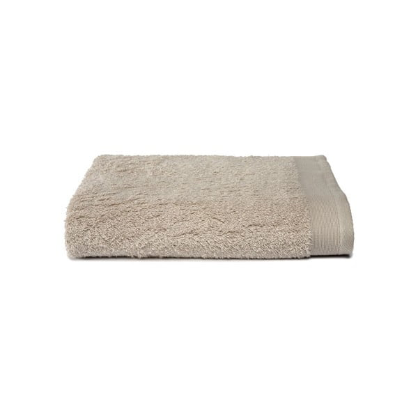 Jasnoszary ręcznik Ekkelboom, 70x140 cm