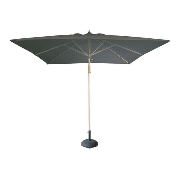 Szary parasol ogrodowy Resol I1