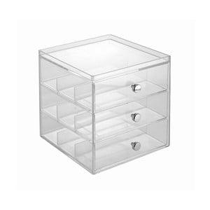 Organizer 3 Drawer Glasses, 16,5x18 cm