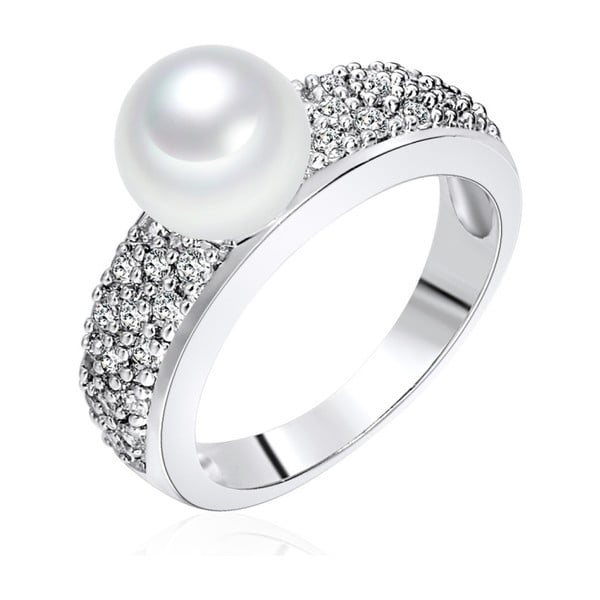 Pierścionek z perłą Nova Pearls Copenhagen Elisabeth, rozm. 52