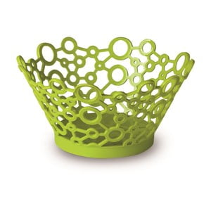 Zielony okrągły koszyk ForMe