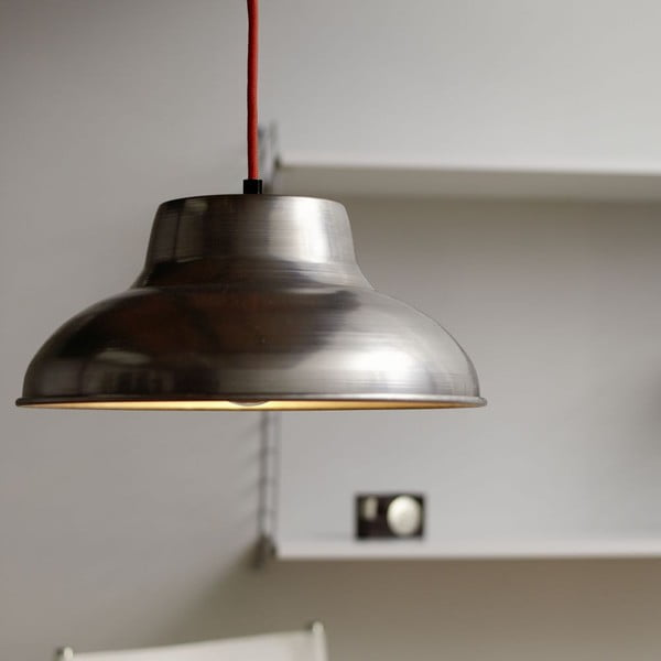 Lampa sufitowa Basic Stahl/Red