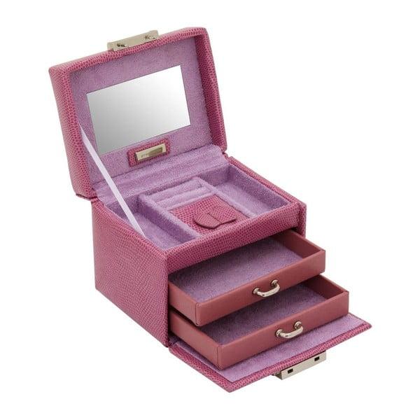 Szkatułka na biżuterię Candy Light Purple, 12x9,5x9 cm