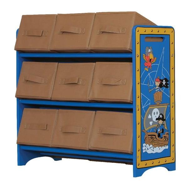 Dziecięca półka z koszykami Pirates