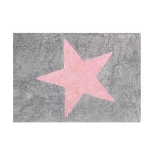 Dywan Estela 160x120 cm, szaro-różowy