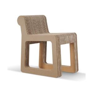 Kartonowe krzesło Knob Natural