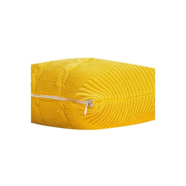 Poduszka Fancy Yellow, 43x43 cm