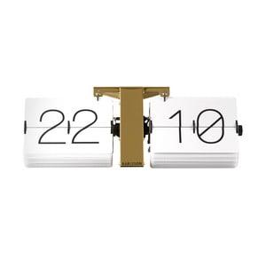 Biały zegar Present Time No Case