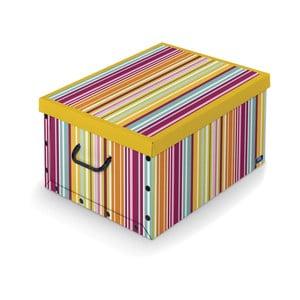 Pudełko Domopak Stripes, dł.50cm