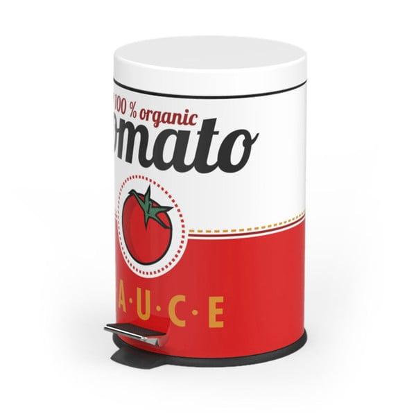 Kosz na śmieci z pedałem Tomato Sauce, 5 l
