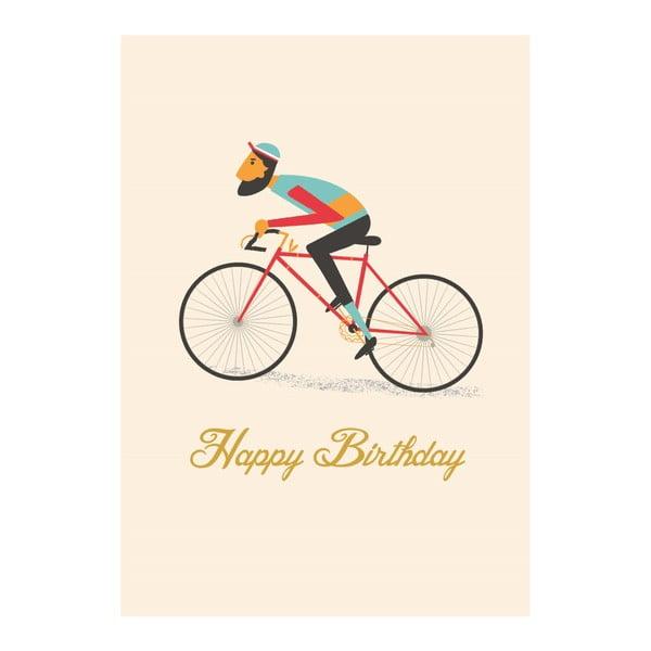 Kartka okolicznościowa Rex London Le Bicycle