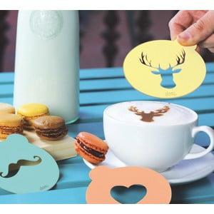 Szablony do dekoracji kawy Hip Coffee