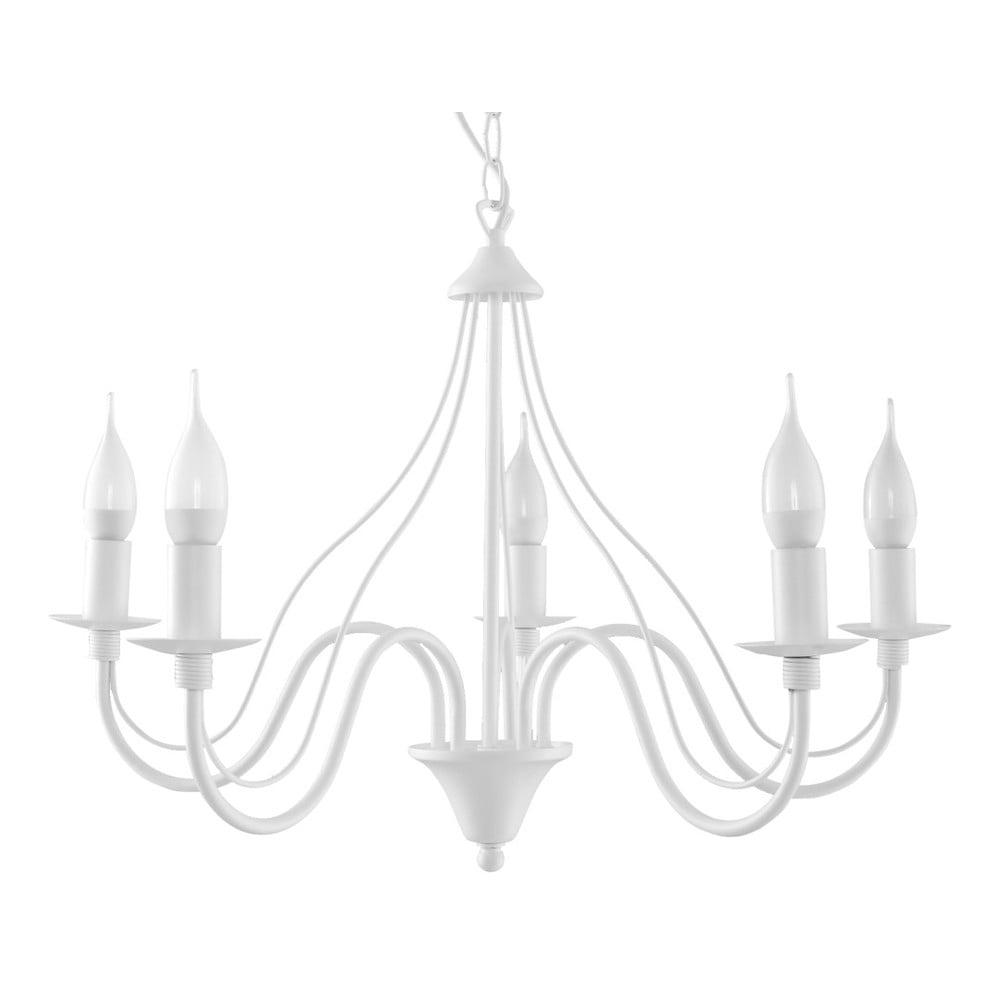 Biały żyrandol Nice Lamps Floriano 5