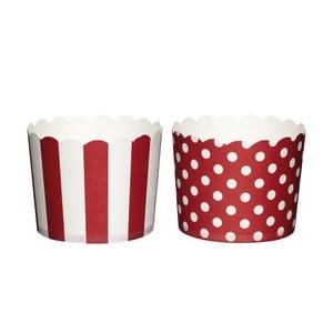 Zestaw 20 papierowych koszyczków do muffinek Red Sweetly Does It