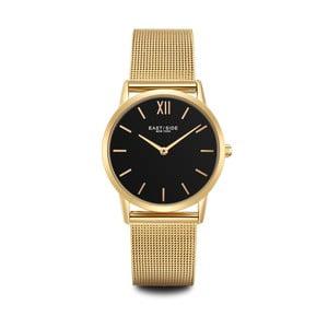 Zegarek damski w kolorze złota z czarnym cyferblatem Eastside Upper Union