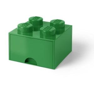 Zielony pojemnik z szufladką LEGO®