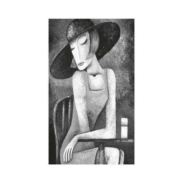 Obraz Black&White no. 5, 41x70 cm