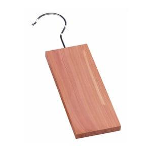 Wieszak z deską z drewna cedrowego Compactor Cedr