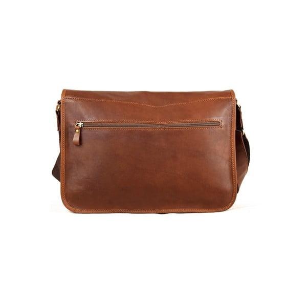 Skórzana torebka Santo Croce 8809 Brown