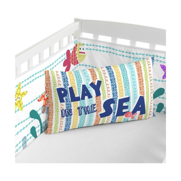 Ochraniacz do łóżeczka Sea Life, 70x70x70 cm