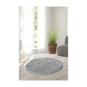 Jasnoszary dywan Milano, ⌀ 90 cm