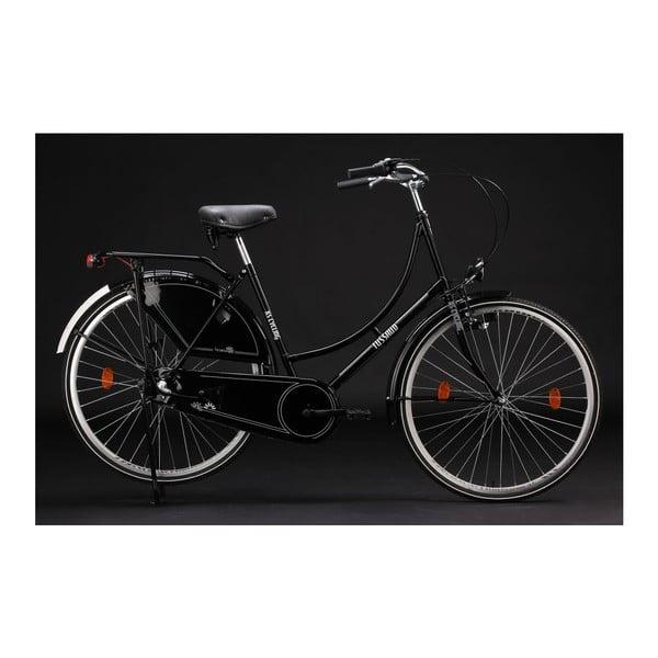 """Rower Tussaud Black 28"""", wysokość ramy 54 cm, 3 biegi"""