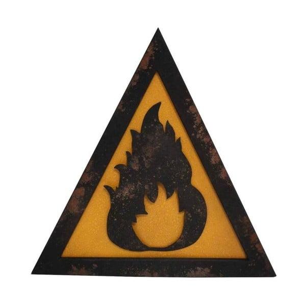 Metalowy znak Antic Line Fire
