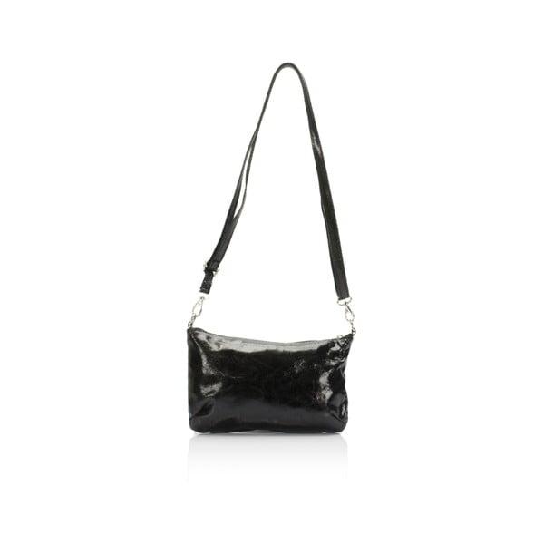 Czarna torebka skórzana Lisa Minardi Lola