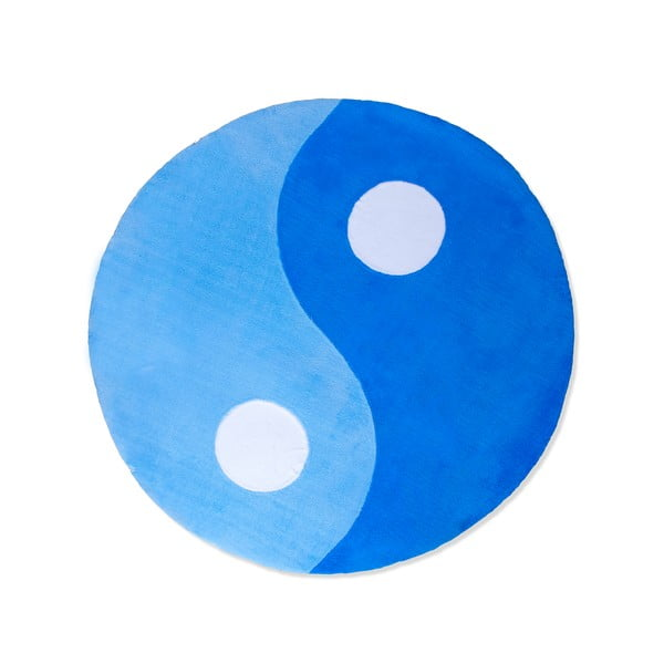Dywan dziecięcy Beybis Blue Jing Jang, 150 cm