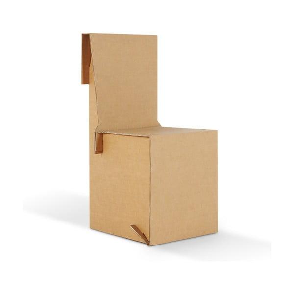 Kartonowe krzesło King Natural