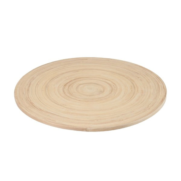 Bambusowa mata stołowa Bamboo White