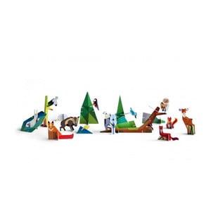 Zestaw 3D modeli do składania Forest Friend