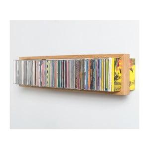 Półka na płyty CD b-cd2, 50x15 cm