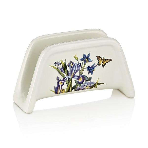 Porcelanowy serwetnik Motylki