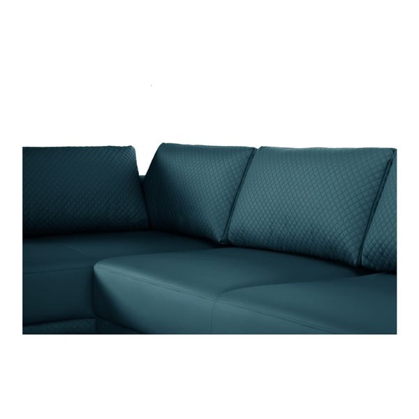 Narożnik Einaudi Turquoise, prawostronny