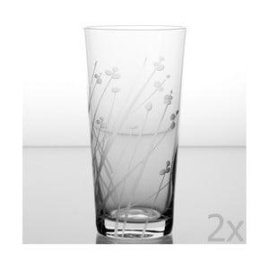 Zestaw 2 szklanek Len 480 ml