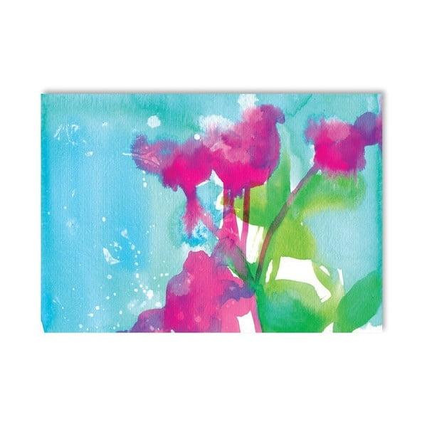 Plakat Pink Flowers, 30x42 cm