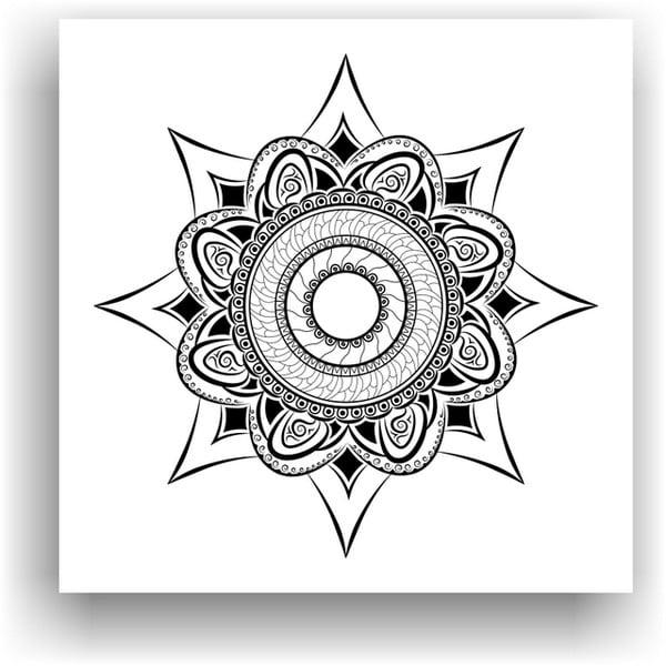 Obraz do kolorowania 81, 50x50 cm