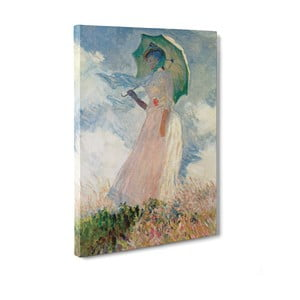 Obraz Woman with a Parasol - Claude Monet, 50x70 cm