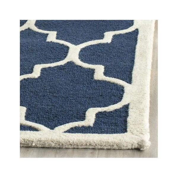 Dywan Everly 152x243 cm, niebieski