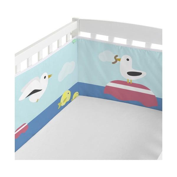 Ochraniacz do łóżeczka Happynois Yellow Submarine, 210x40 cm
