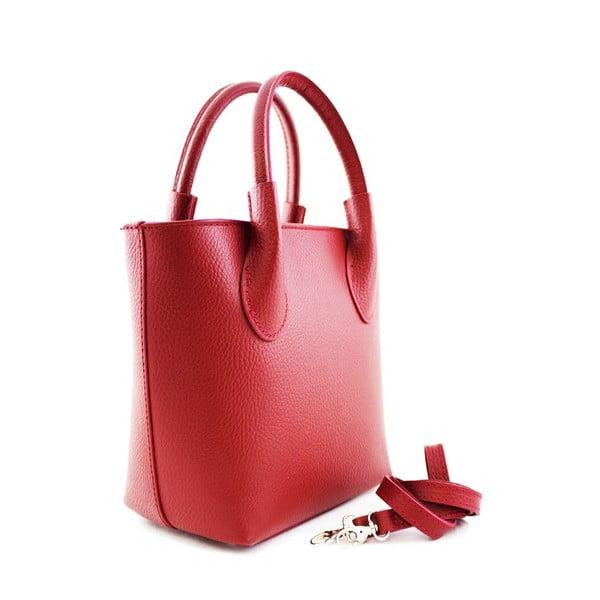 Skórzana torebka Malgorata Rosso