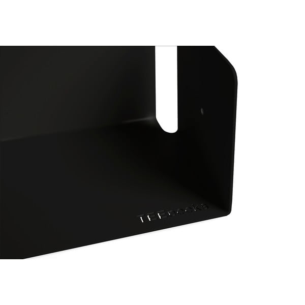 Niewidzialne półki U, 2 sztuki, czarne